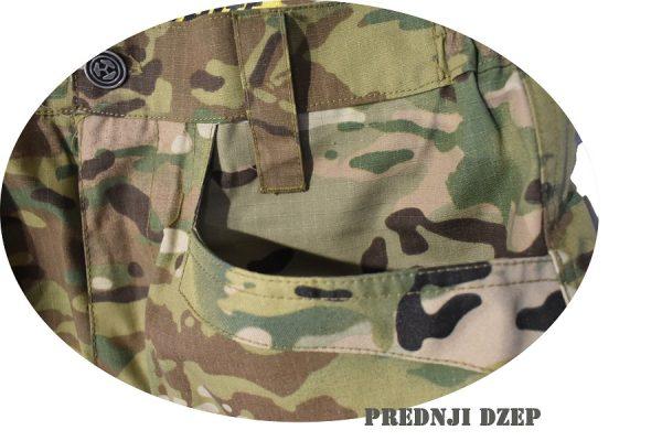 ojačani dvostruko prostepani dzepovi na protect pantalonama