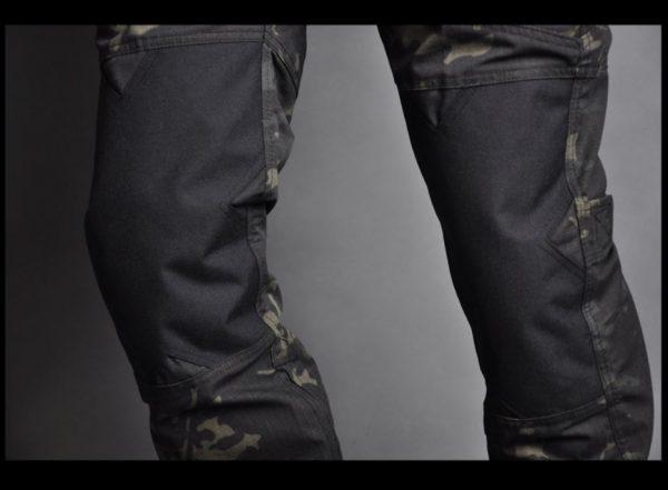 taktičke multicam kargo pantalone kolena