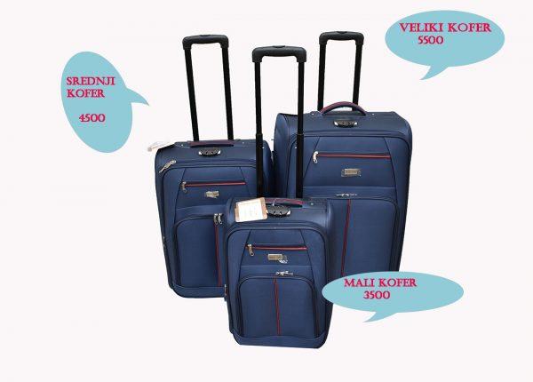 Kofer za putovanje travell land