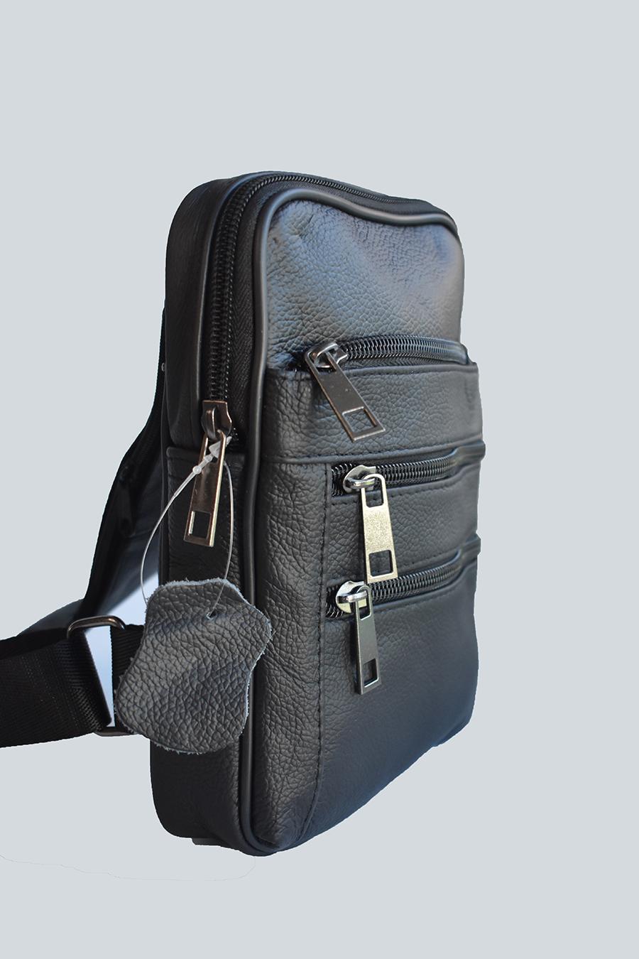 muska kozna torba model 512 za nosenje preko grudi