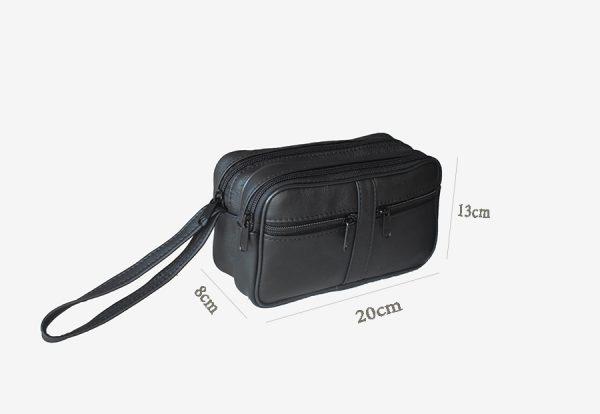 Muska kozna torba za ruku model XL